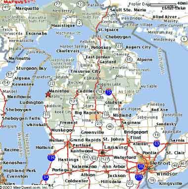 michigan karte Michigan Karte michigan karte